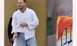 After Rahul's display of torn kurta at rally, BJP workers- India Tv