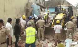 Bengaluru building collapses after LPG cylinder blast