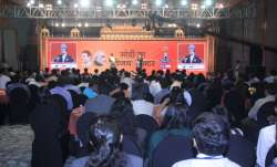 India TV's flagship election mega conclave Chunav Manch was