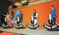 India TV's Chunav Manch programme was held at Gujarat's Ahmedabad.