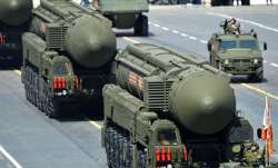 The Dongfeng-41 is a three-stage solid-fuel missile with a