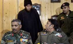 Majid Arshid, the footballer-turned militant, being