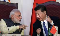File pic - PM Narendra Modi and Chinese President Xi