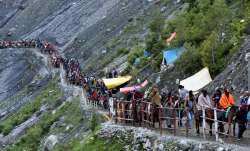 No chanting of mantras, ringing of bells at Amarnath