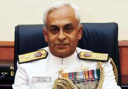 Navy chief Sunil Lanba