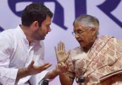 Miffed over Rahul Gandhi, Sheila Dikshit may pull out of UP