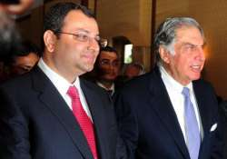 File pic - Cyrus Mistry and Ratan Tata