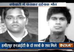 Two NIT students freeze to death near Manali