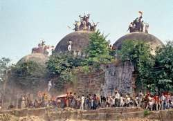 Chronology of events in 1992 Babri Masjid demolition case- India Tv