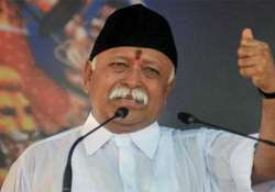 Mohan Bhagwat seeks nationwide ban on cow slaughter- India Tv