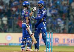 IPL 2017: Mumbai Indians vs Sunrisers Hyderabad scoreboard