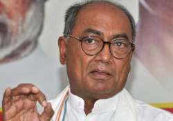 File pic of Congress leader Digvijaya Singh