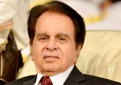 File pic of Bollywood actor Dilip Kumar