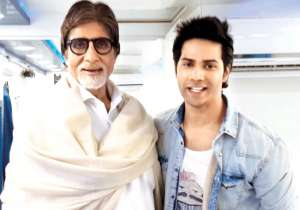 Varun Dhawan clears the airs on working with Amitabh- India Tv