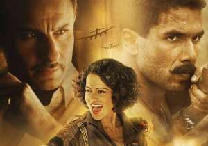 'Rangoon' review: Kangana is extraordinary, Shahid and Saif- India Tv