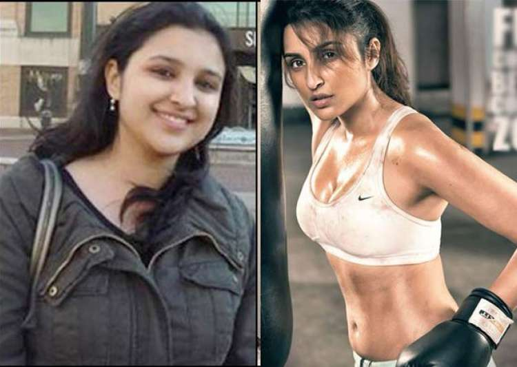 Before amp after parineeti chopra s story of struggle with weight loss
