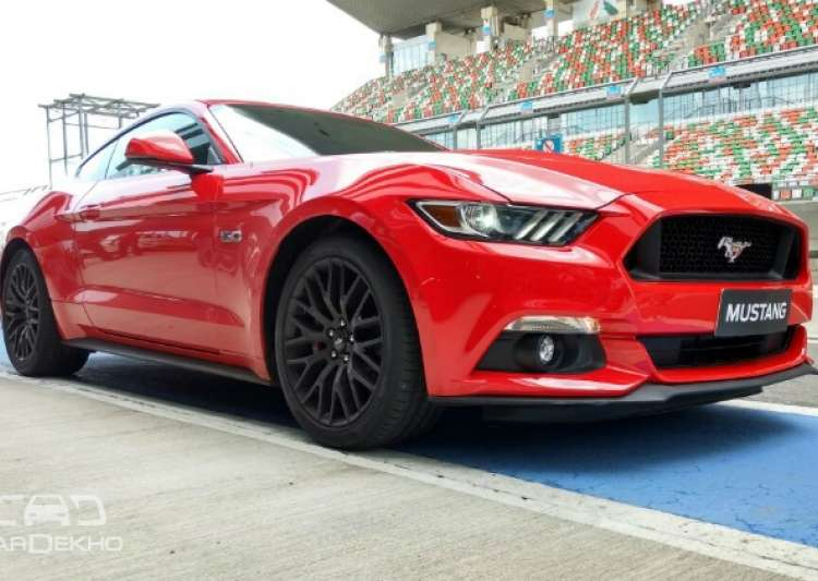 ford launches mustang gt in india at starting price of rs