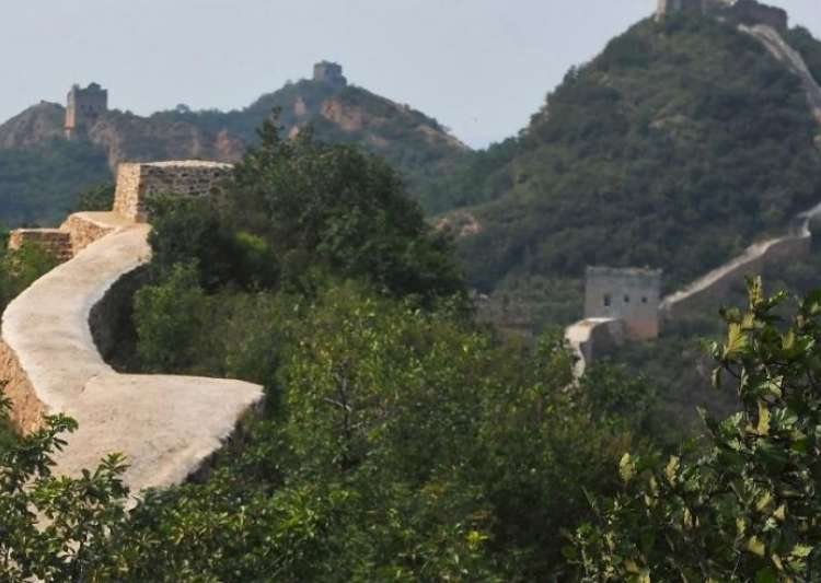 Botched up repair work at great wall of china sparks outrage- India Tv