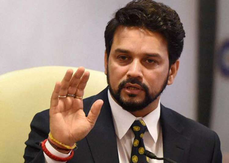 File pic of BCCI president Anurag Thakur- India Tv