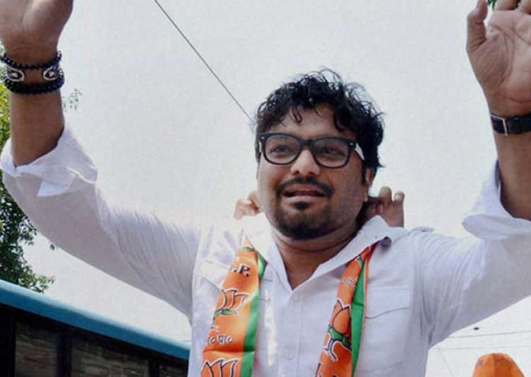 Union Minister Babul Supriyo was leading a BJP protest in- India Tv