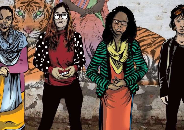 Comic book based on acid attack victims- India Tv