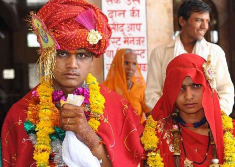 Nearly 12 million Indian children were married before the- India Tv