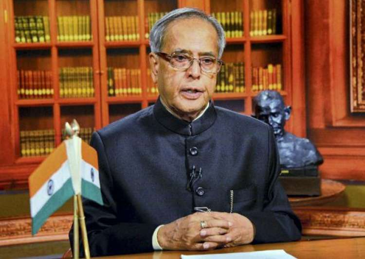 Pranab Mukherjee- India Tv