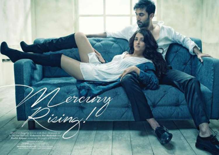 Ranbir-Aishwarya's recent photo shoot is going viral for- India Tv