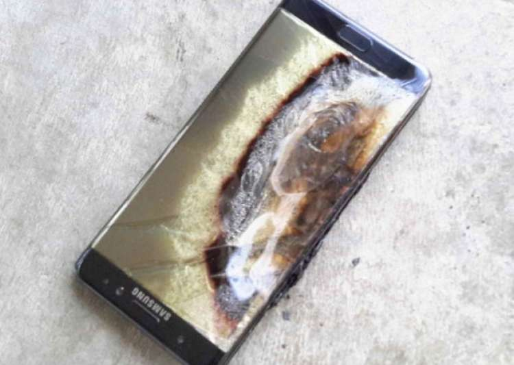File pic of exploded Samsung Galaxy Note 7- India Tv