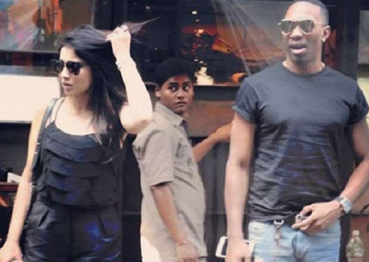 According to Shriya Saran, her lunch date with Dwayne Bravo- India Tv