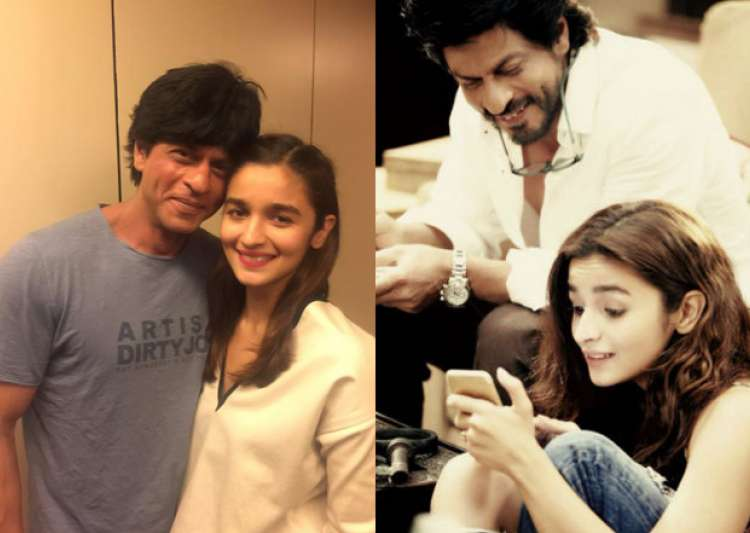 SRK and Alia Bhatt- India Tv