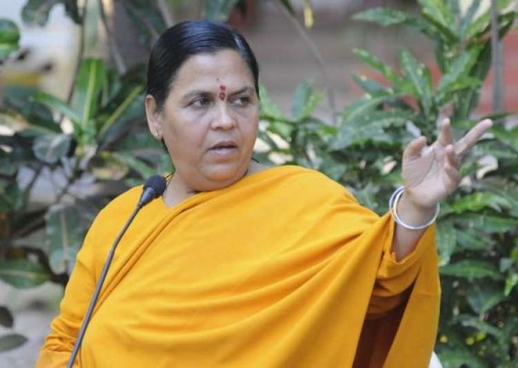 File photo of Uma Bharti- India Tv