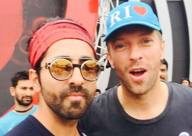Ayushmann Khurrana on sharing stage with Chris Martin- India Tv