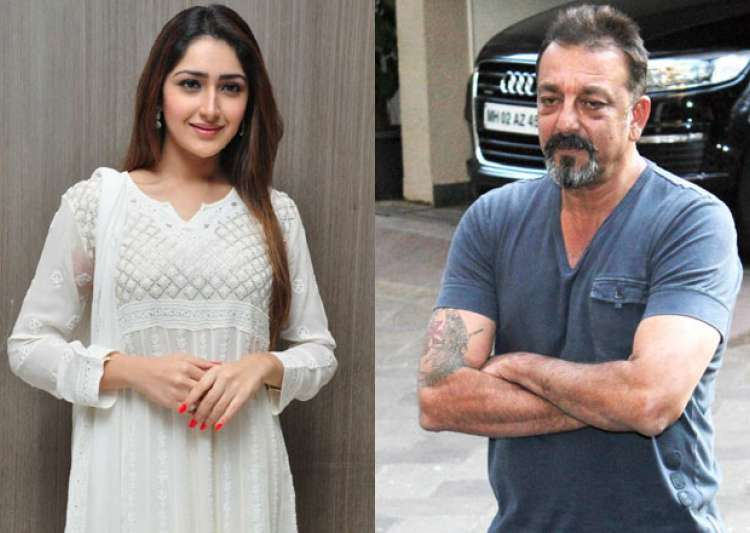 Is Shivaay girl Sayyeshaa Saigal a part of Sanjay Dutt's- India Tv