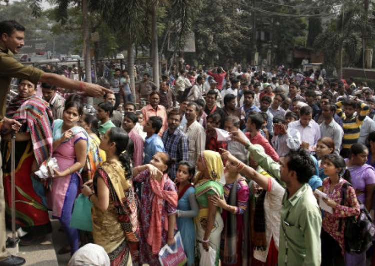 Currency demonetisation leaves 40 dead in past one week:- India Tv