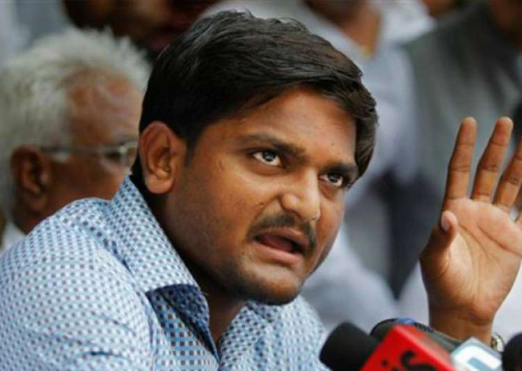 File pic - Patidar leader Hardik Patel- India Tv