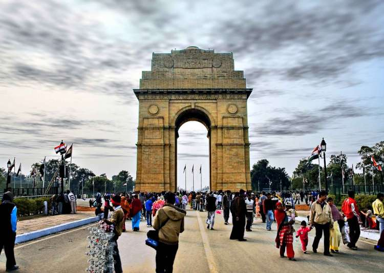 People at India Gate- India Tv