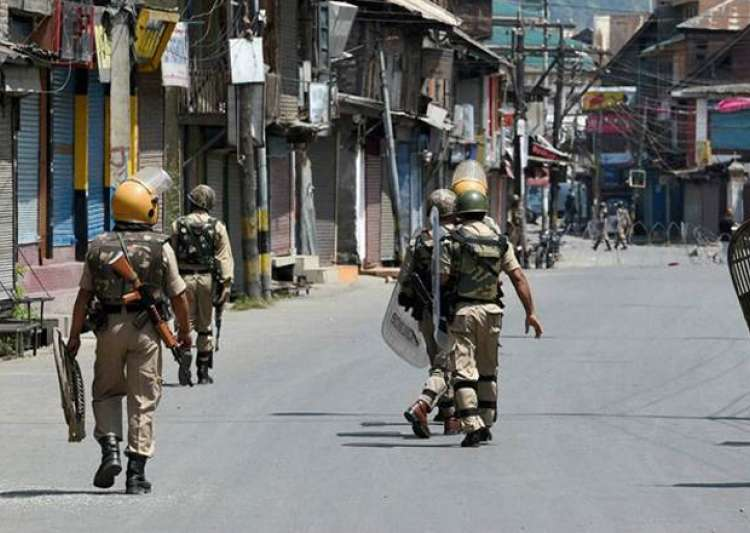 File pic - Indian security forces during Kashmir unrest - India Tv