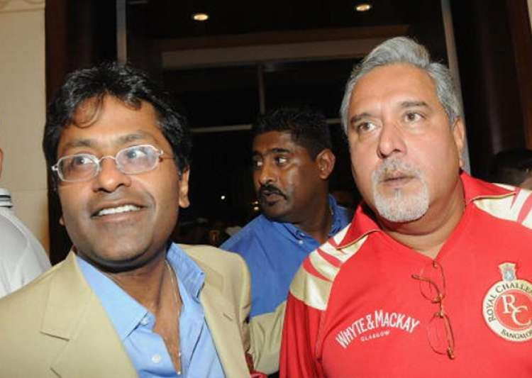 File pic - Lalit Modi and Vijay Mallya- India Tv