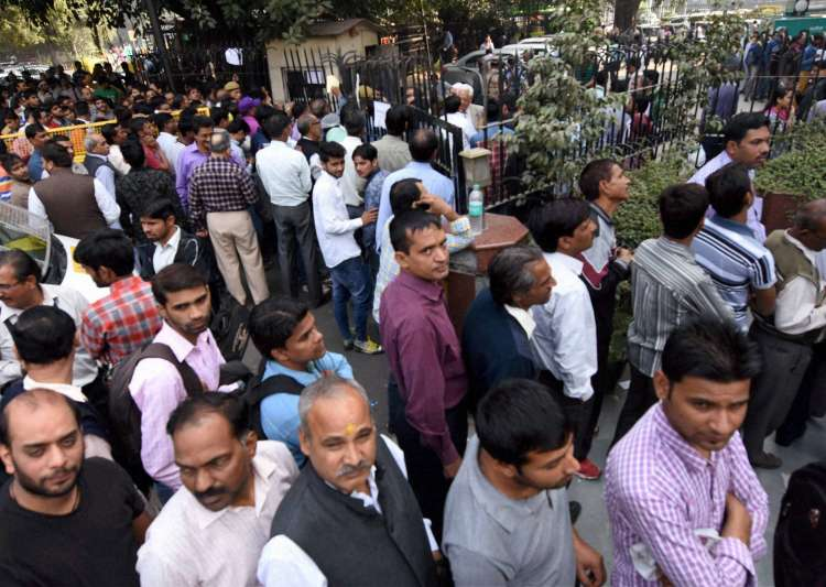 demonetisation, death, banks, ATMs, queues- India Tv