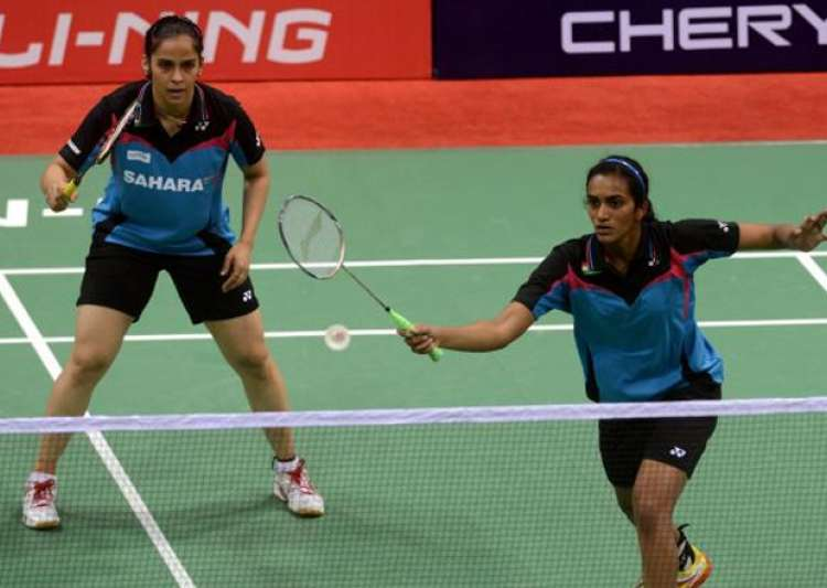 File pic - Saina Nehwal (left) and PV Sindhu.- India Tv