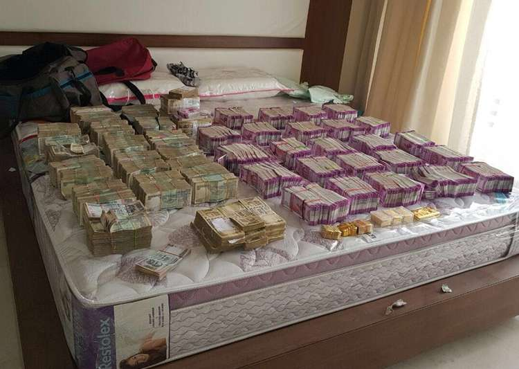 I-T dept, Income tax, Rs 4 crore, new notes- India Tv