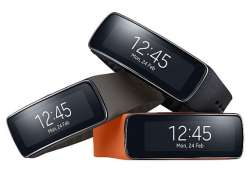 samsung unveils gear fit a curved fitness oriented wristband