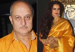 anupam kher excited about working with rekha in super nani