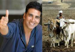 respect akshay kumar gives rs 1 lakh monthly to 30 drought