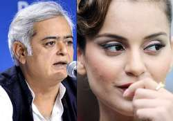 hansal mehta confirms biopic with kangana