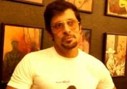 on birthday vikram sweating it out in china