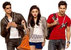 movie review student of the year siddharth overshadows alia