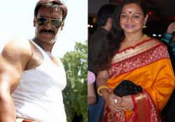 zarina wahab to play ajay s mother in himmatwala remake