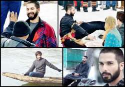 shahid kapoor s haider to have composition from kashmiri